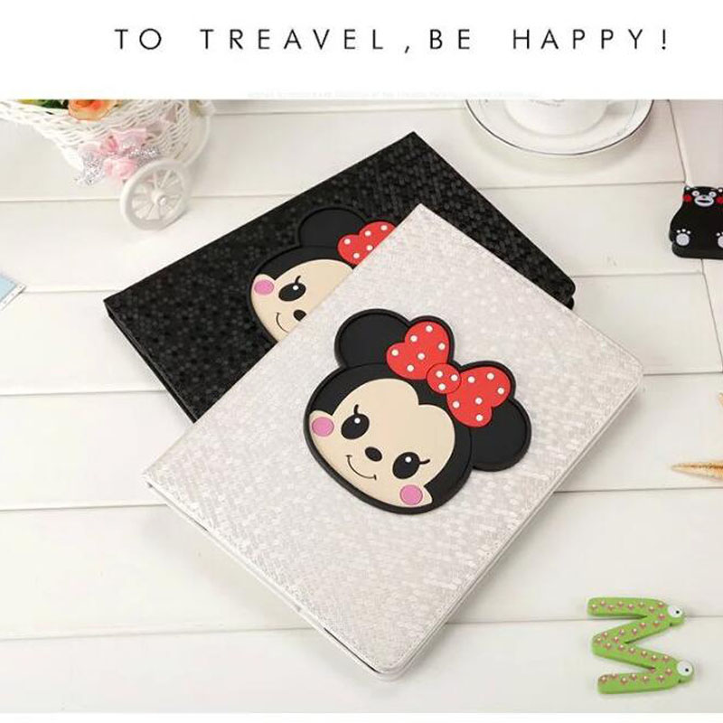 7.9 Hot Sale Cute Cartoon Tablet Case for Ipad mini 2 3 mini 4 Good Quality PU Leather Flip Bracket Tablet Cover Case<br>