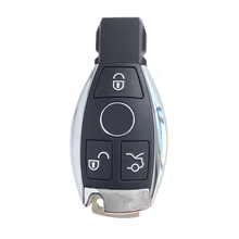 3 Buttons Remote Car Key Shell Key Replacement Mercedes Benz year 2000+ NEC&BGA Control 433MHz DY153