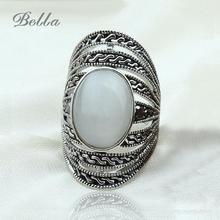 wholesale Lots Jewelry New Top Nice Big Natural Stone Cabochons Ring Fashion Jewelry Charm Of God For Women/Men Rings(KA0047)