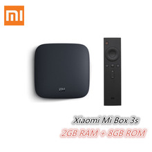 Buy Original Xiaomi Mi 3S TV Box 4K 64bit Android 6.0 2G 8G Media Player Quad Core Amlogic S905X Dolby DTS HDMI Set Top Box for $49.97 in AliExpress store