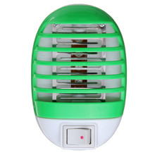 Green Electronic Mosquito Killer Lamp International Plug Mini Night Light Insect Repellent LED Light Low Power Consumption 220V(China)