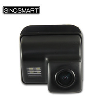 SINOSMART In Stock High Quality Rearview Parking Reverse Camera for Mazda 6 CX-5 CX-7 CX-9 Install in License Plate Lamp Hole