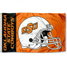Oklahoma State Cowboys Football college banner 3X5ft Flag(China)