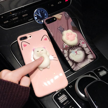 Phone Cases for iphone 6 6s 6 plus 6s plus 7 7 plus Mobile phone bag Squishy Kneading Cute Case Cover for iphone 6s Shell Fundas(China)