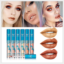 Recommend Hot sell ! ! ! your own brand liquid lip shine lip gloss with led light and mirror(China)