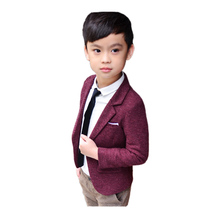 fashion kid boy blazer coat solid gentleman style causal suit coat for 2-10years boys kids children outerwear tops clothes hot