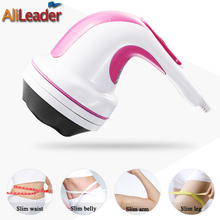 Computer Electric Neck Leg Waist Foot Massager Slimming Massage Machine 4 Attachments Included For Different Usages On The Body