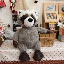 NICI plush toy stuffed doll cute little raccoon coon animal parent-child bedtime story baby birthday christmas gift 1pc