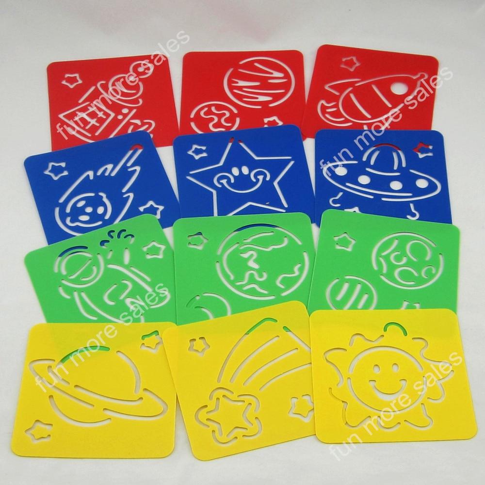 Aliexpress.com: Comprar 12 Designs / set plantillas para niños ...