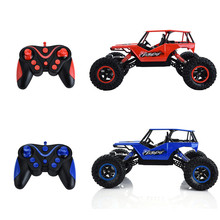 Hot Bi-motor 20KM/h 4WD 1:16 Climb Car 2.4G Remote Control Dual Motor Four-wheel Drive Off-road RC Car with Light Sound Effect