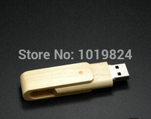 100% real capacity 8GB 16G USB 2.0 Flash Memory usb flash drive  Stick wooden swivel  U Disk for Laptop Computer S128