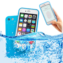 For iPhone 6S Case 360 Full Cover Soft TPU Silicone Waterproof Case For iPhone 6 Plus 6S Plus 5S 7 7 Plus Swimming Case Summer