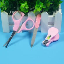 New Lovely Mini Baby Nail Care Practical Clipper Trimmer Blue Pink Convenient Daily Baby Nail Care Set