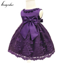keaiyouhuo Baby Girls Dress For Girl Princess Party Dress Infant Christening Gown 1 Year Birthday Dress Christmas Baby Clothing(China)