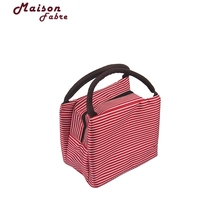 New Fashion Portable Coolers Insulated Lunch Bag Waterproof Designer Lunch Box For Women Thermal Food Bag Lancheira 919#30(China)
