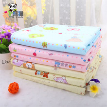 2016 New 100% Cotton Baby Crib Stroller Pram Waterproof Bed Reusable Nappy Changing Sheet Mat Cover Urine Pad Mattress