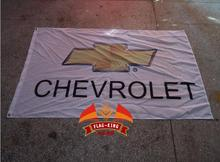 Chevrolet car brand flag,cycle racing flag,90*150CM ,polyester