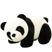 20cm Lovely animals China panda dolls Baby toys Cute Plush toy students Girl Birthday gifts brinquedos Desktop Home decoration