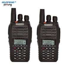 2PCS baofeng UV-B5 portable Walkie Talkie Professional FM transceiver long range wireless Dual Band dual display two way radio