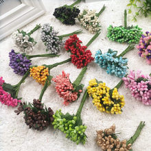 12PCS/ artificial bud blackberry berries of flowers wedding decoration DIY clip decorative wreaths bouquets of flowers