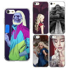 DIFFRBEAUTY For iPhone 8 New Movie Stars Game Sexy of Thrones Phone Case for iPhone X 5 SE 6 6s 7 plus Sexy TPU Capa Para Case(China)