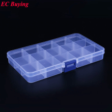 1 pcs New Arrival 15 Cells SMD SMT IC Electronic Component Mini Storage Box and Practical Jewelry Storaged Case 178*105*23.5 mm
