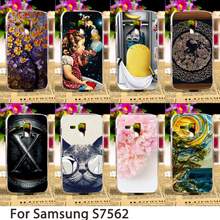 Smartphone Cases For Samsung Galaxy Trend Plus GT S7580 Duos GT S7562 S7560 GT-S7562L Hard Back Cover Skin Housing Sheath Bag