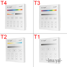 New Milight Smart Panel Led Controller RGB RGBW RGB+CCT LED Touch Switch Panel Controller Led Dimmer for Led Strip, Panel Light