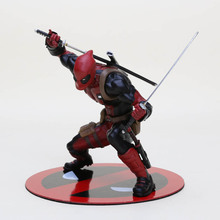 13cm New Deadpool with Weapon sword Nowi Artfx Statue PVC action Figure Model Toys for collection(China)