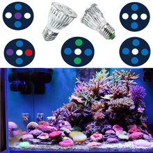15W Full Spectrum LED Aquarium Light E27 Aquarium Light LED Par30 Small Aquarium LED Lighting for Coral Reef Refugiums SPS LPS(China)
