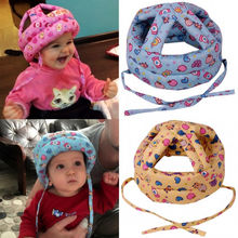 1Pcs Toddler Kids Baby Soft Caps No Bumps Walk Play Safety Helmet Hat Caps New Hot Fashion