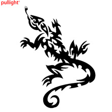 11cm*15cm Tribal Tattoo Lizard Stickers Car Accessories Vinyl Decals(China)