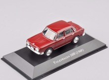 1/43 Scale Alloy Diecast Volkswagen 1600 (1969) Red Car Display Model Vehicles brinquedos Collectible boys Gifts
