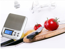 3000gx0.1g Electronic Household Kitchen Scales 3kg*1g LCD Big Digital Table Counting Bench Scale Weighing Balance Grams+6 Units(China)