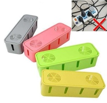 Home Baby Children Safety Socket Wire Cable Storage Box Children Safety Tidy Home Organizer Solution