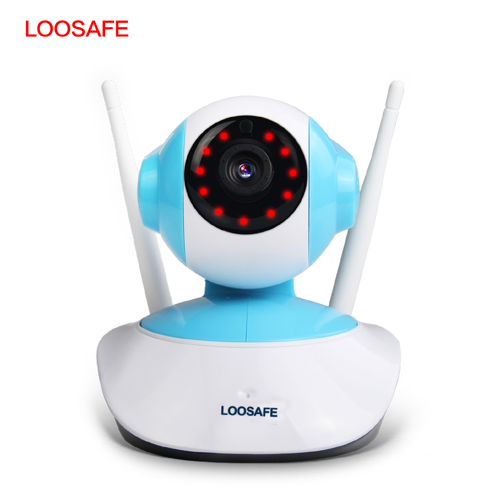 LOOSAFE 960P Security Network CCTV wifi camera Wireless Surveillance System Home 2 MP Baby Monitor camera  <br>
