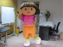 2014 high quality DORA mascot costume factory direct sale free shipping DORA mascot costumes