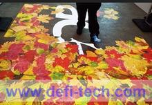 DEFI copyright Interactive floor system, Interactive wall  system, interactive floor projection for advertising / 130 effects