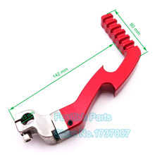 Red CNC Kick Start Starter Lever For 50cc 110cc 125cc Chinese Pit Dirt Bike ATV Quad CRF XR50 Motorcycle
