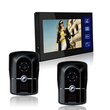 7 inch LCD Color Video door phone Intercom System HD Camera Home Security beautiful and luxurious style.(China)