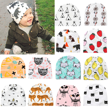 Fashion Lovely Animals Cotton Toddler Kids Baby Infant Warm Hat Beanie Cap Comfortable Casual Hats(China)