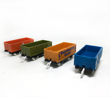x011 Hot Products Electric Thomas and Friends of the car train car children's plastic toys gift color random delivery(China)