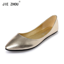New 2018 Sring Summer Casual Shoes Women Flats Pointed Toe Women's Shoes Moccasins Ballet Flats Flat Shoes Ballerina Loafers