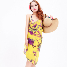 Selling new sunscreen ladies towel bikini beach towel harness dress seaside holiday essential to wear a variety of wholesale2017(China)
