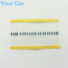 100pcs 1/4W Metal Film Resistor 330 ohm 330R 1% Tolerance Precision RoHS Lead Free In Stock