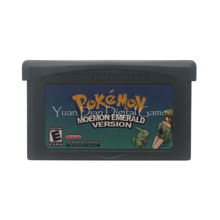 Nintendo GBA Video Game Cartridge Console Card For Pokemon Series Moemon Emerald English Language Version(China)