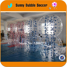 8PCS+2pump 1.2m inflatable bumper ball/bubble football/knocker balls for sale with TPU material