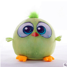 1pc 18cm New 3D Cartoon Lovely Animal Birds Stuffed Plush Toys Dolls for Kids Gift Child Birthday Present SA882597(China)