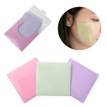 Buy 80Pcs Powerful Oil Absorbing Paper Face Makeup Cleaning Facial Tissue Blotting Beauty Control Lavender/Green tea/Rose New for $1.50 in AliExpress store