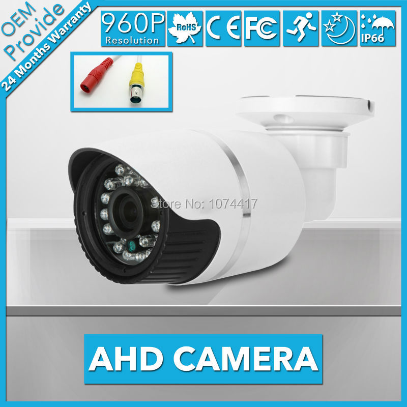 AHD3613LG-E  AHD 960P AHD Camera Waterproof  3.6/6mm Lens Security Video 1.3MP CCTV Analog Camera With Good  Day/Night  Vision<br>